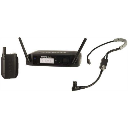Shure GLXD14/B98 Digital Wireless Instrument System with Beta 98H/C Clip-on Gooseneck Microphone