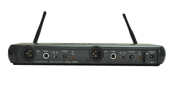 Shure SVX88 Dual Channel Diversity Receiver