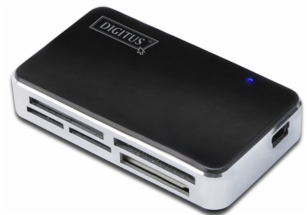 Digitus Card Reader/Writer USB 2.0, All in1, supports T-Flash