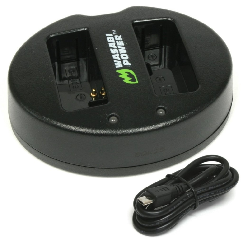 Wasabi Power Dual USB Battery Charger For Pentax D-LI109