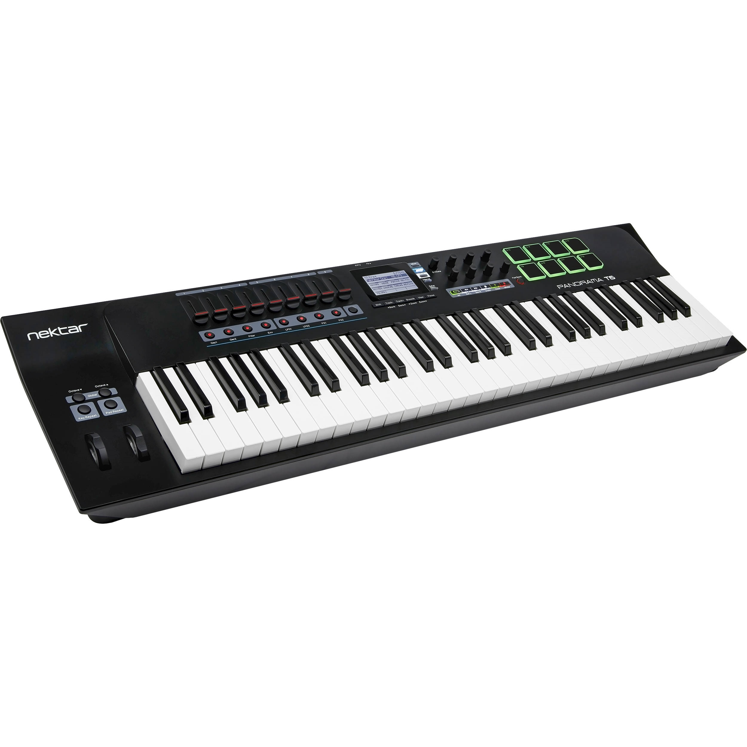 Nektar Technology Panorama T6 61-Key USB MIDI Controller
