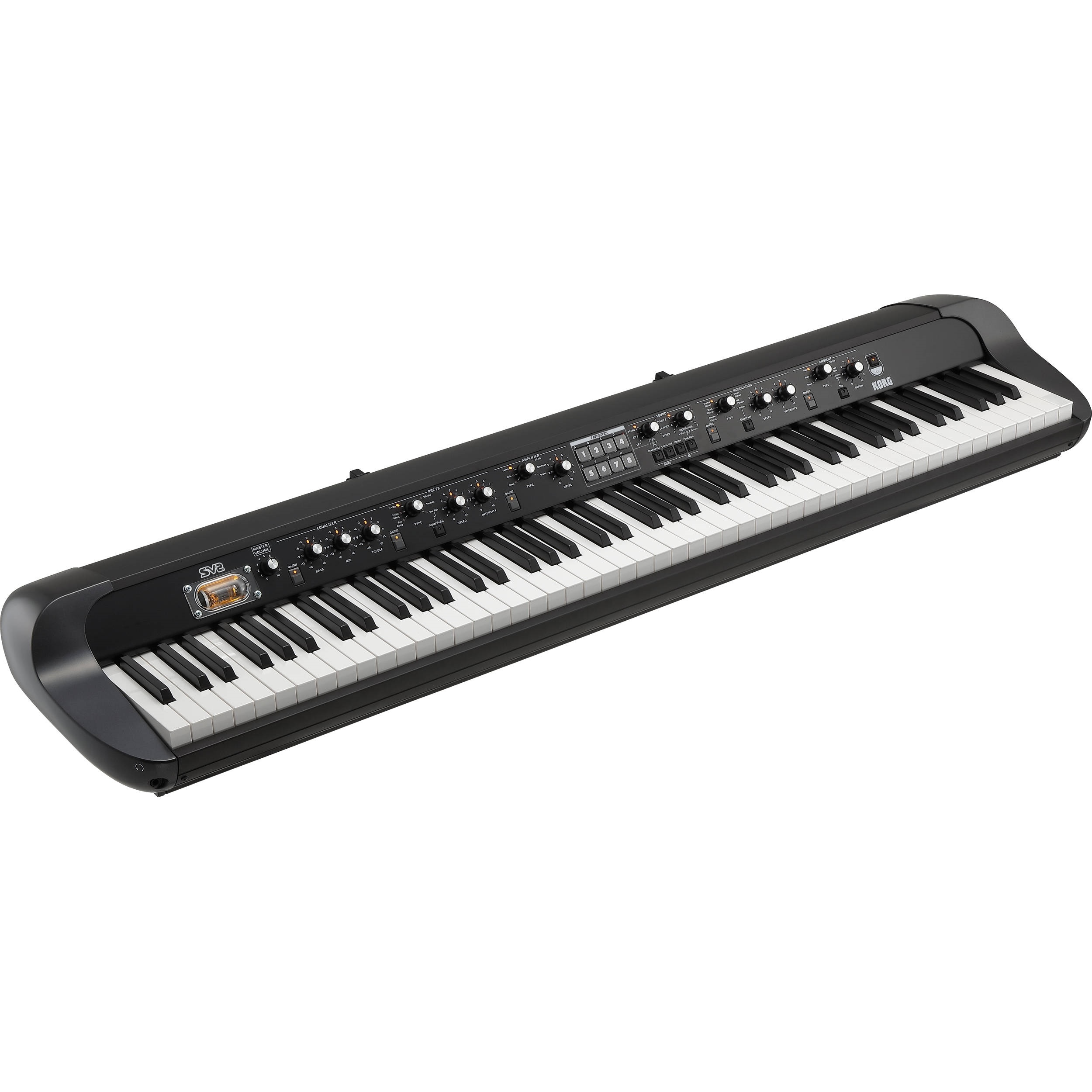 Korg SV-2 88-Key Vintage Stage Piano (Black)