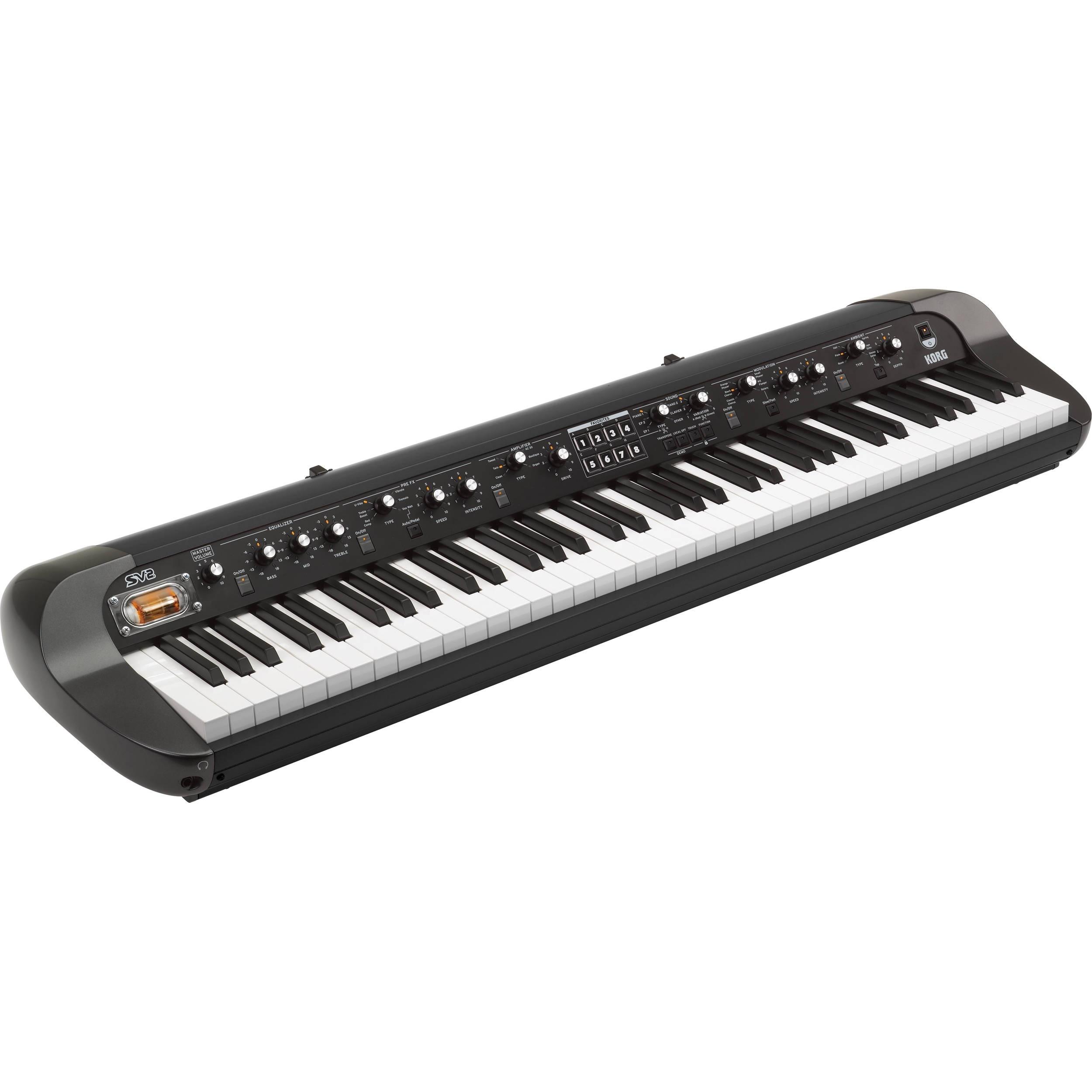 Korg SV-2 73-Key Vintage Stage Piano (Black)