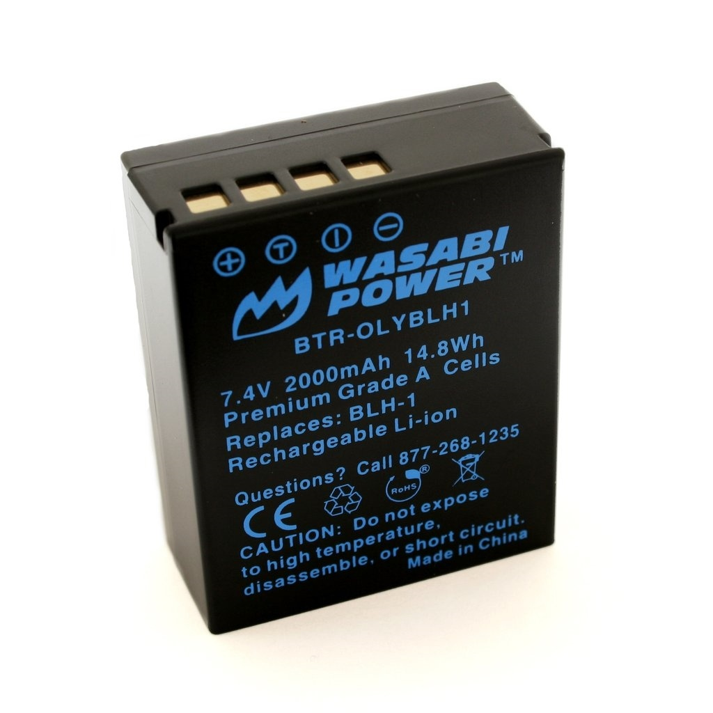 Wasabi Power Battery For Olympus BLH-1