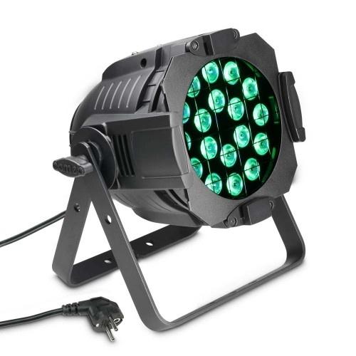 Cameo P ST 64 Q 8W 18 x 8 W QUAD Colour LED RGBW PAR Light in Black Housing