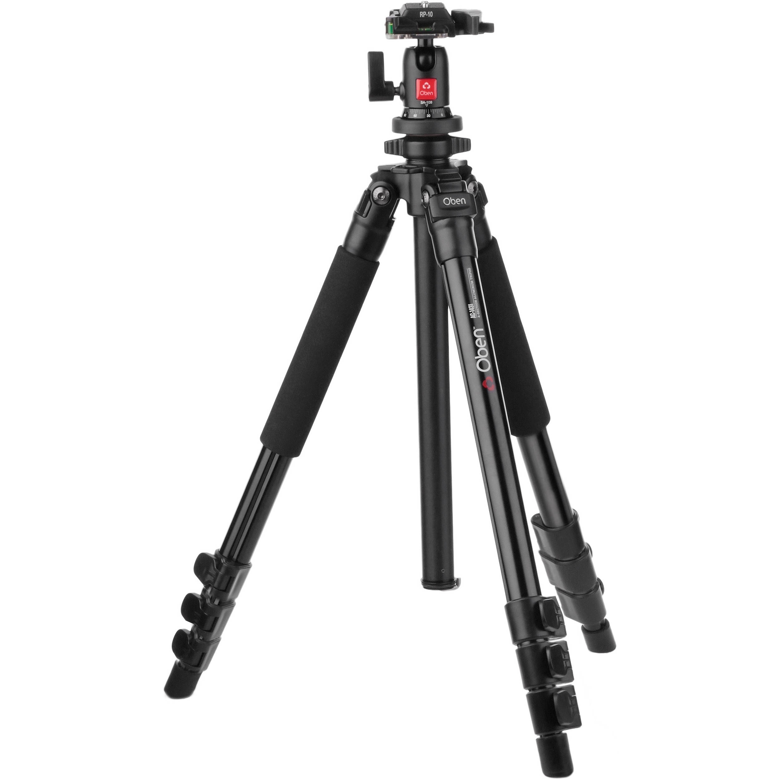 Oben AC-1431 Aluminum Tripod with BA-108 Ball Head