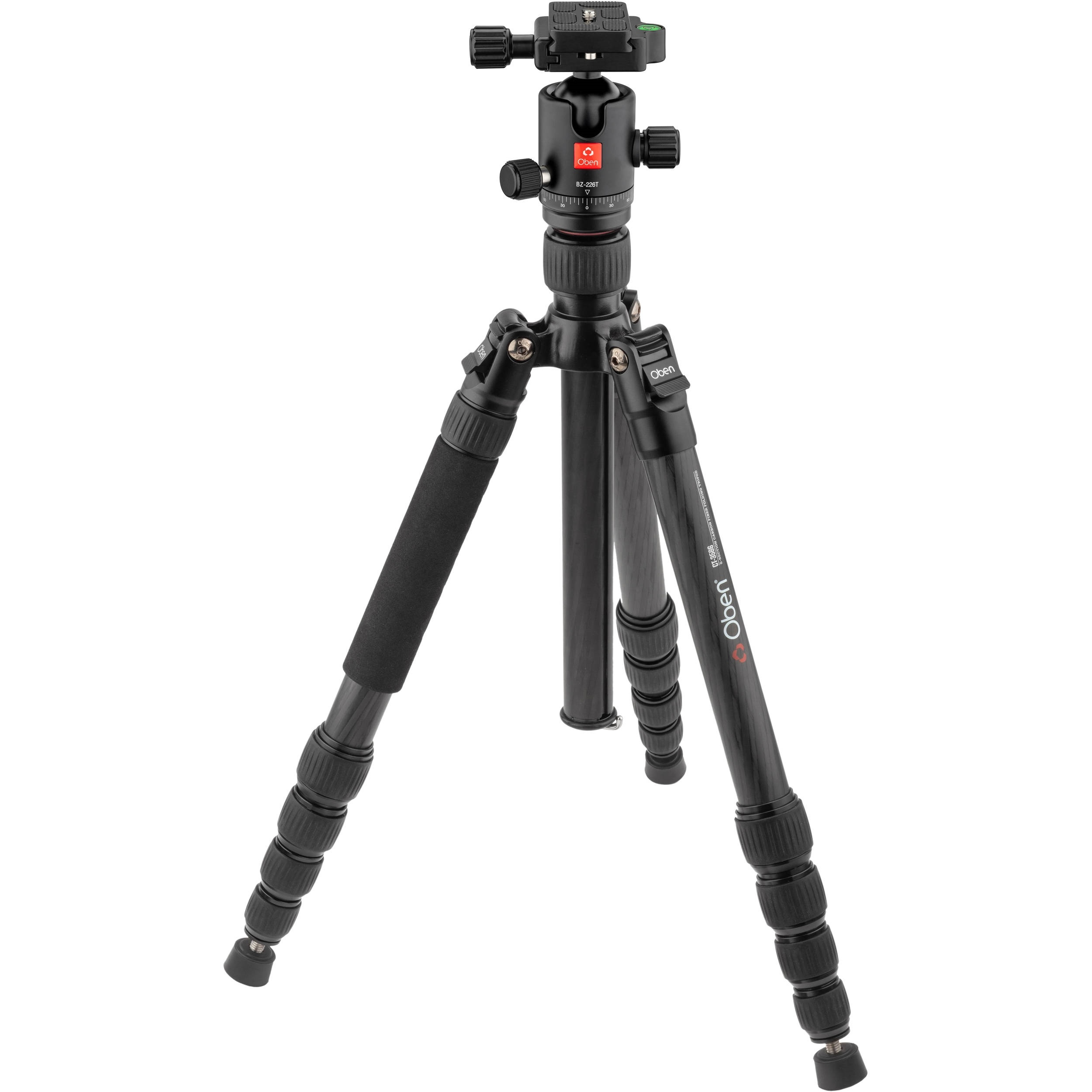 Oben CT-3586 Carbon Fiber Tripod and Triple Action BZ-226T Ball Head
