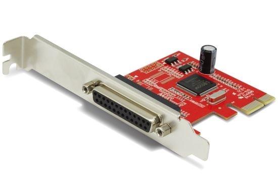 UNITEK 1 Port Parallel PCI-E Card Includes Low Profile Bracket