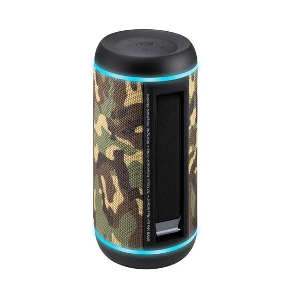 PROMATE Silox Pro Wireless Hi-Fi Stereo Speaker (Camo)
