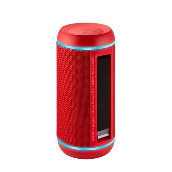 PROMATE Silox Pro Wireless Hi-Fi Stereo Speaker (Red)