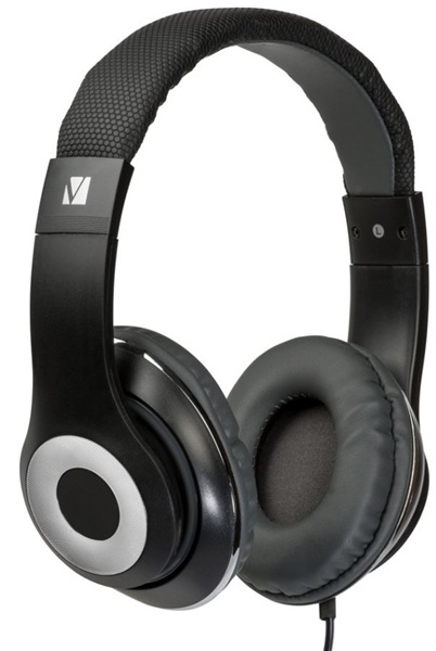 Verbatim Classic Stereo Headphones with Microphone Black