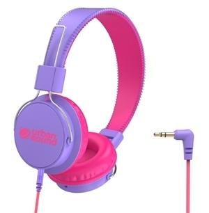 Verbatim Urban Sound Volume-Limiting Kids Headphones Purple/Pink
