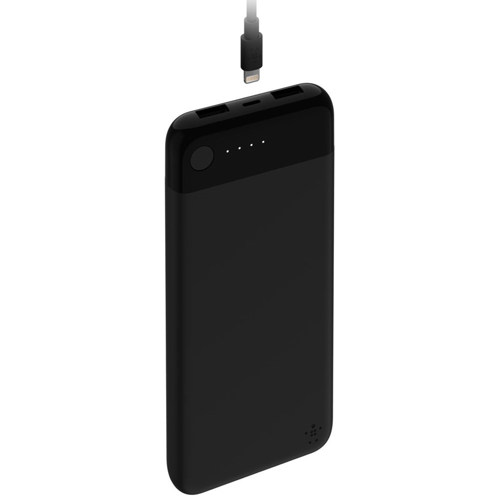 Belkin BOOSTCHARGE Power Bank 10K with Lightning Connector (Black)