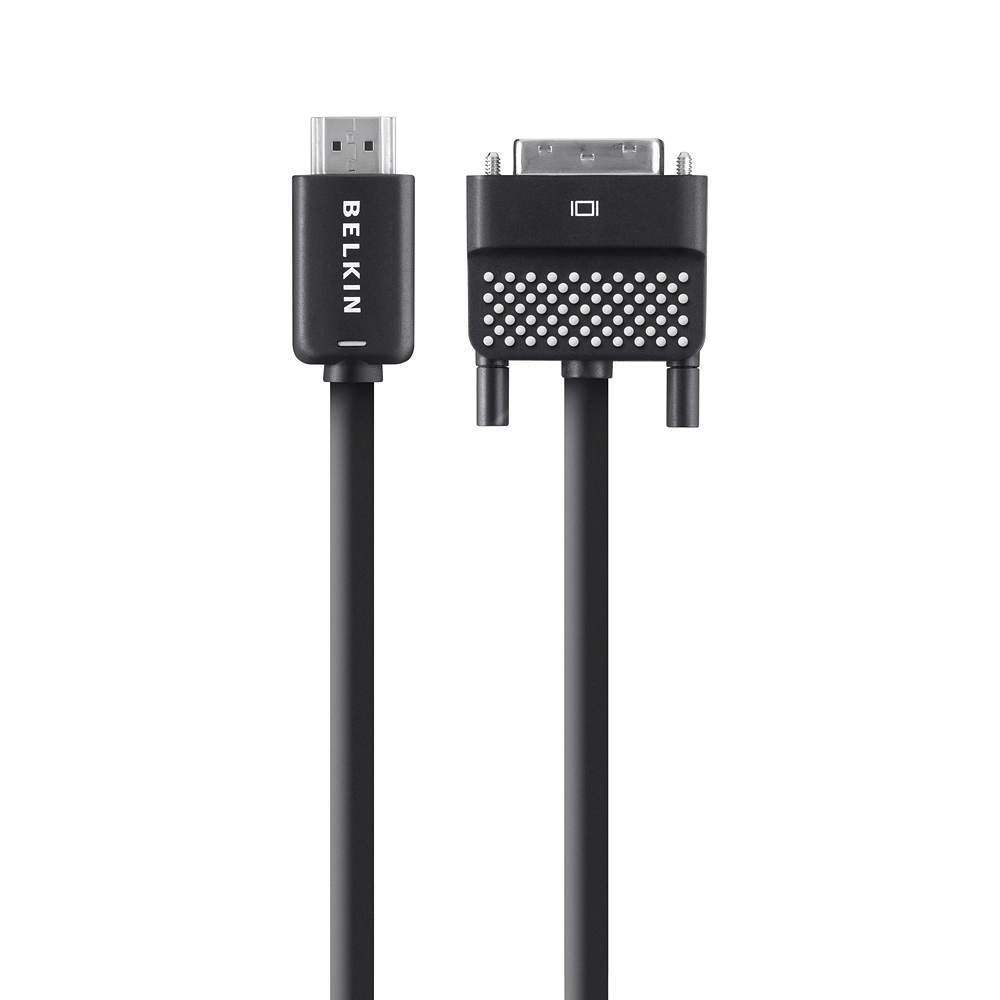 Belkin HDMI to DVI Cable (1.8m, Black)