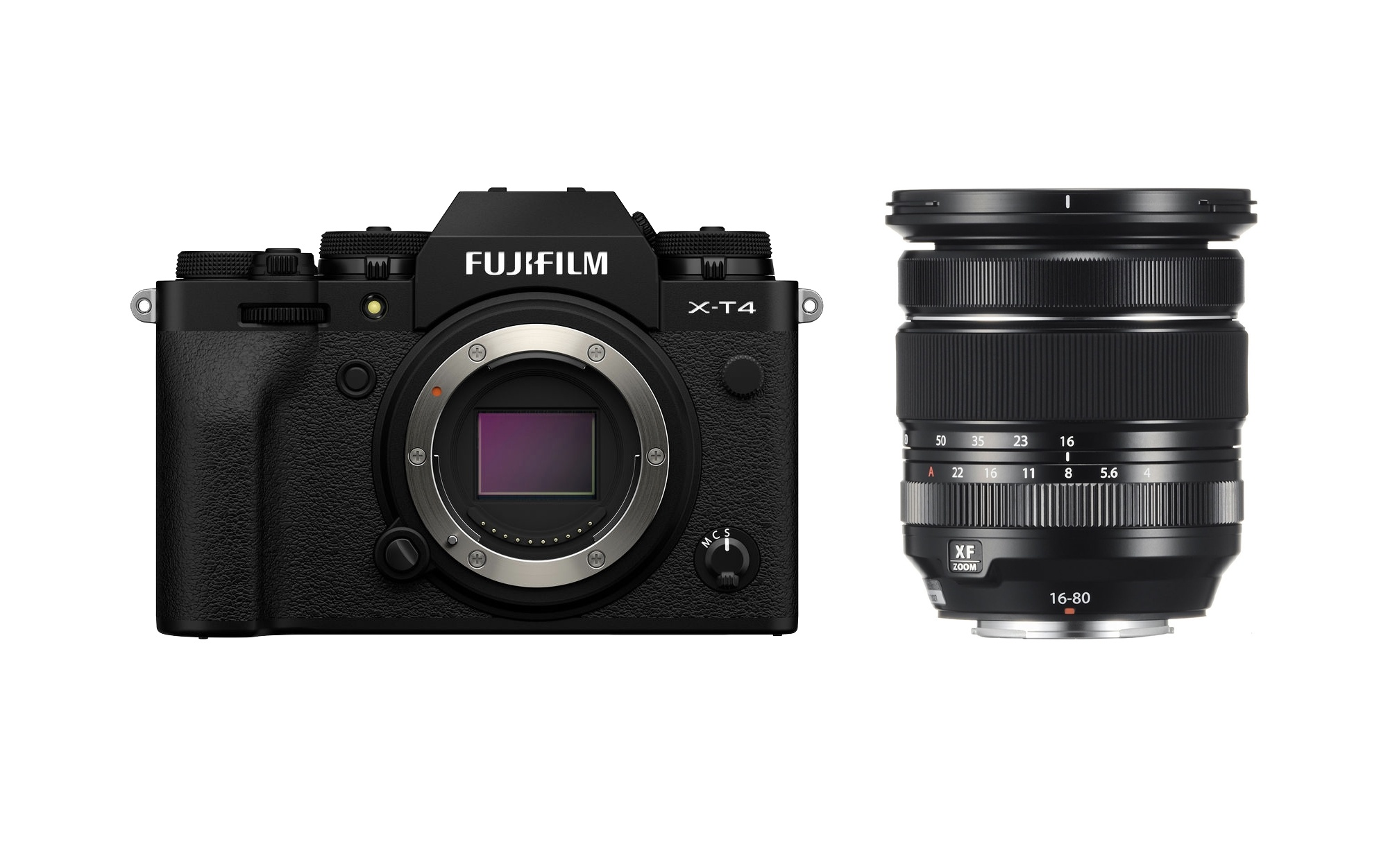Fujifilm X-T4 Mirrorless Digital Camera with 16-80mm Lens (Black)