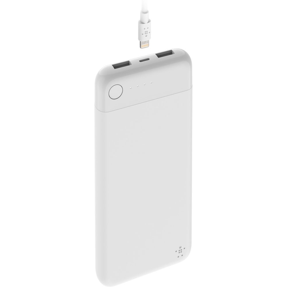 Belkin BOOST CHARGE Power Bank 10K with Lightning Connector (White)