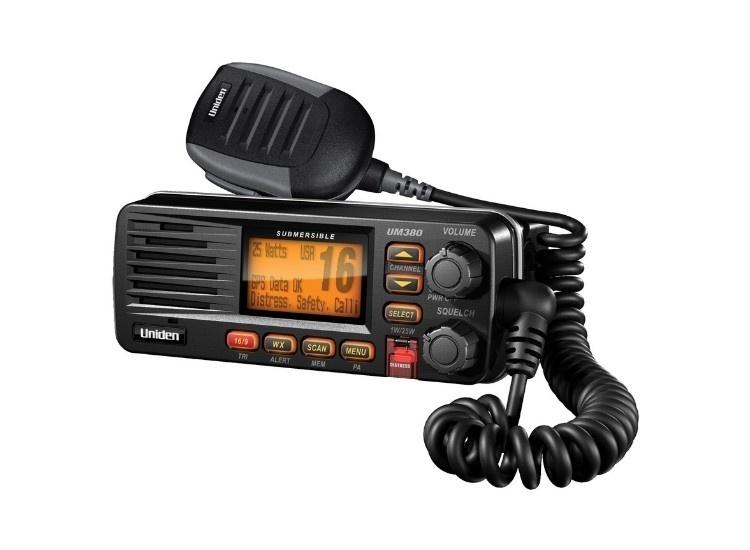 Uniden Solara D UM380 Marine Radio (Black)