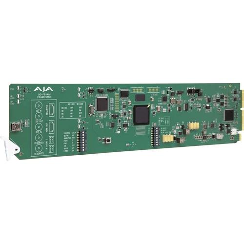 AJA 3G-SDI Frame Synchroniser with DashBoard Support