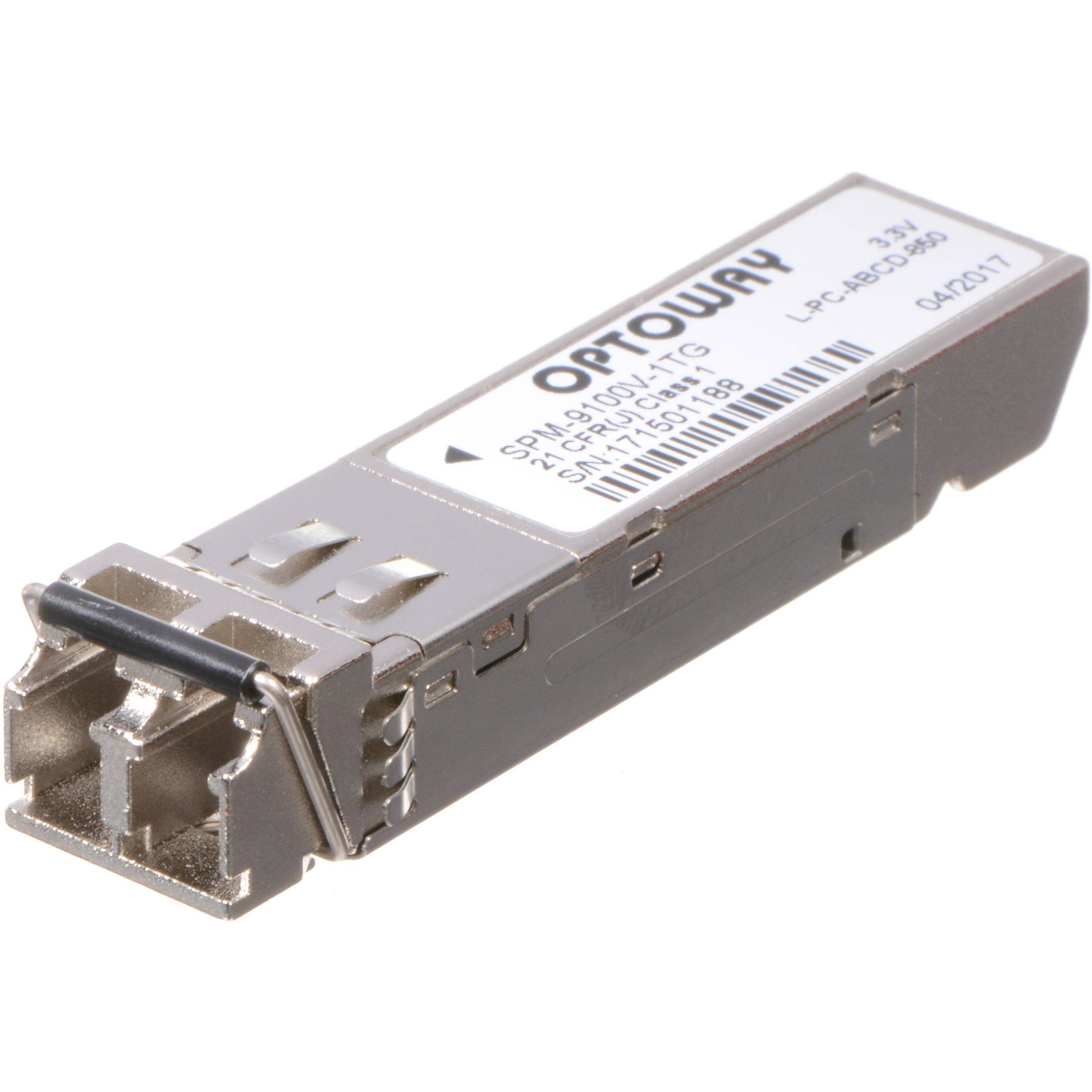 AJA Single Multi-Mode LC 3G Fiber Transmitter SFP