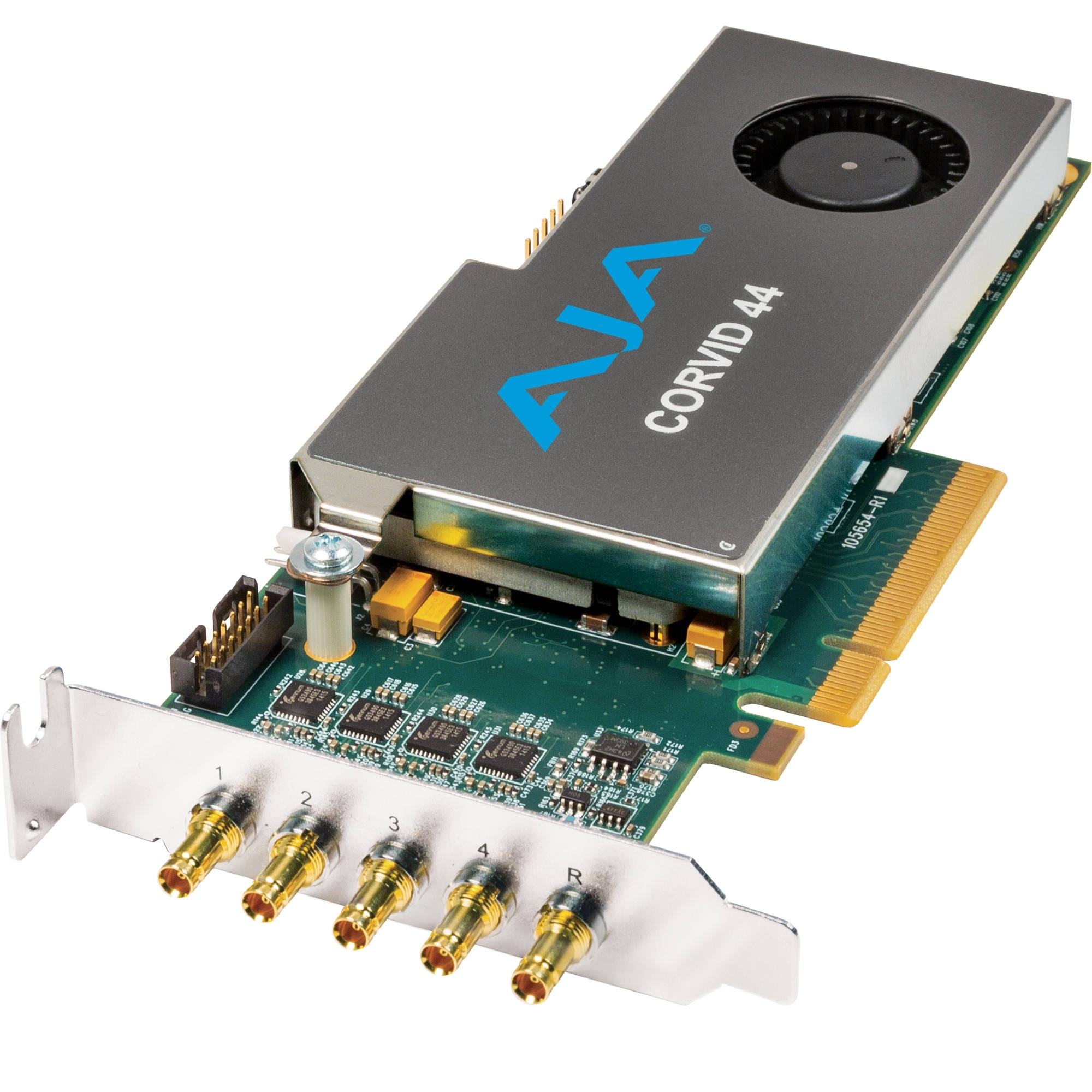 AJA CORVID 44 Low-Profile 8-Lane PCIe Express Gen 2.0 Card (No Cable)