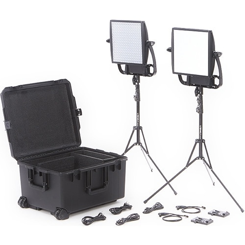 Litepanels Astra Bi-Colour LED Traveler Duo Kit (V-Mount)