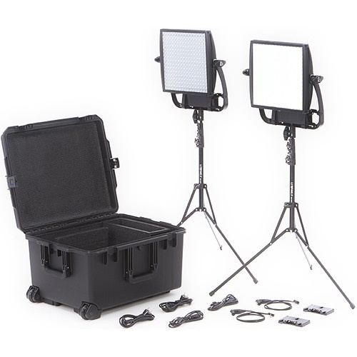 Litepanels Astra Bi-Colour LED Traveler Duo Kit (Gold Mount)