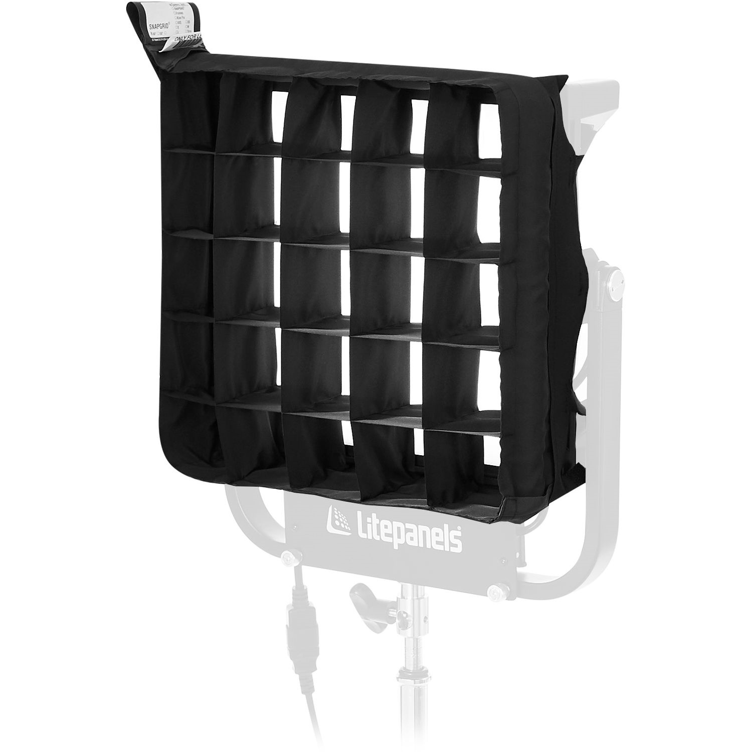 Litepanels Snapgrid Eggcrate for Gemini 1x1 LED Panel (40 deg)