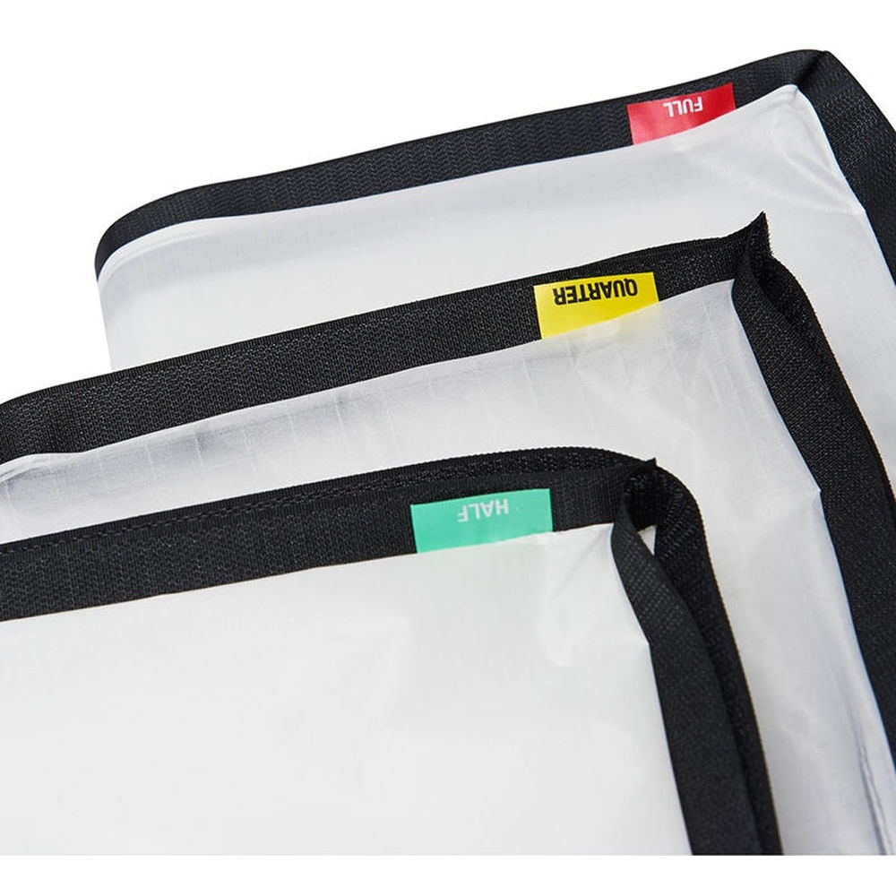 Litepanels SnapBag Cloth Set for Gemini 1x1 LED Panel (1/4, 1/2, Full)
