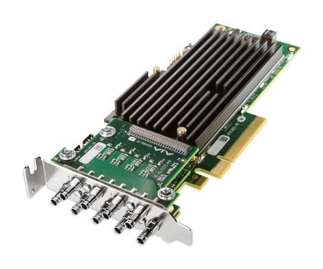 AJA CRV88-9-S-NCF 8-lane PCIe 2.0, 8 X SDI, Fanless Version w/No Cables