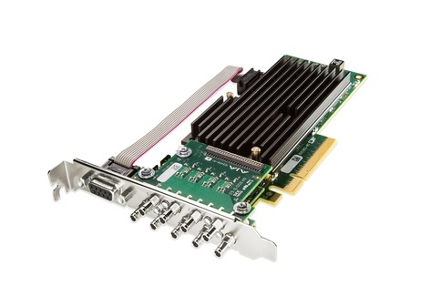 AJA CRV88-9-T-NCF 8-lane PCIe 2.0, 8 X SDI, Fanless Version w/No Cables