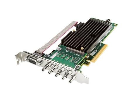 AJA CRV88-9-T-NF 8-lane PCIe 2.0, 8 X SDI, Fanless Version w/Cables
