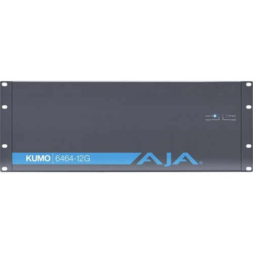 AJA KUMO 6464-12G Compact 64x64 12G-SDI Router