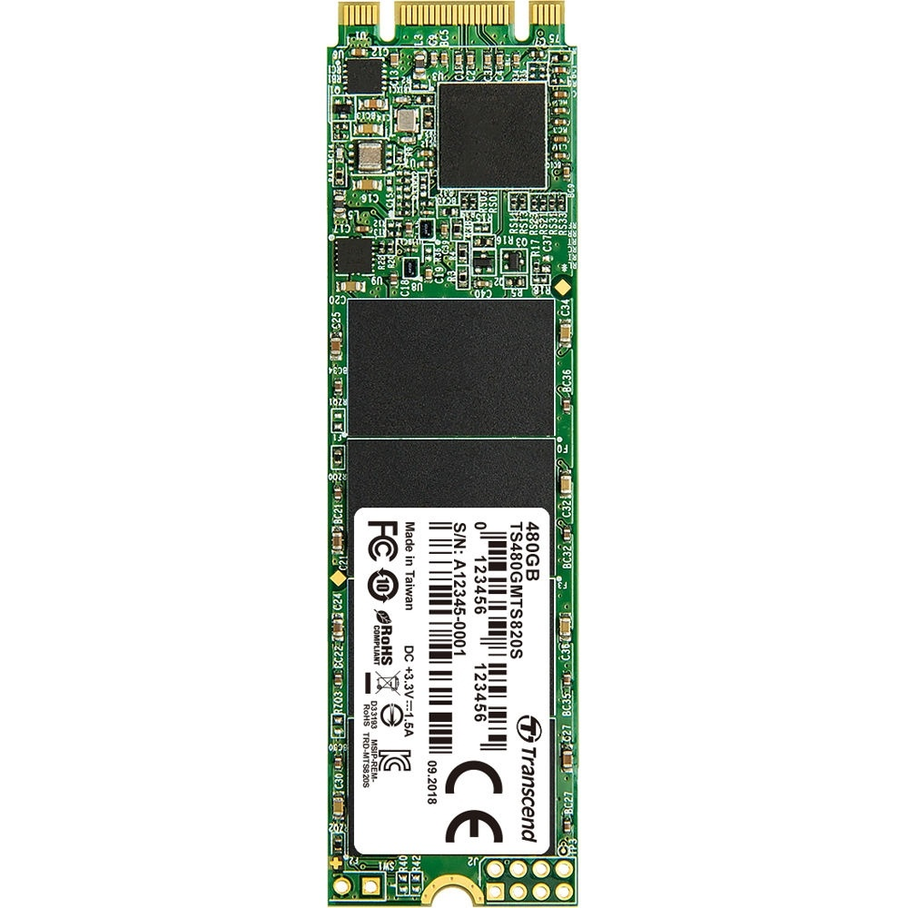 Transcend 480GB 820S M.2 SATA III Internal SSD