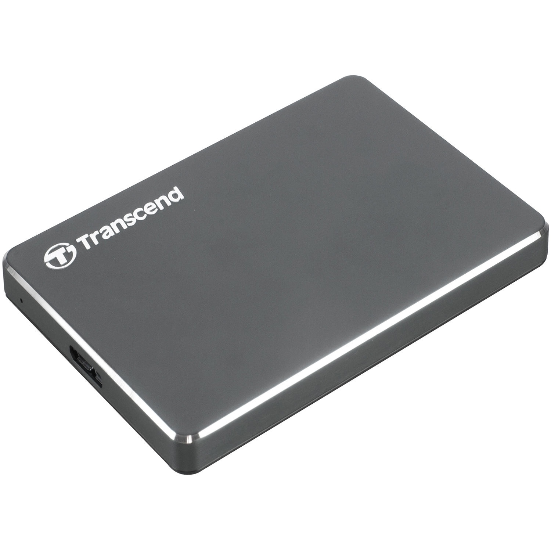 Transcend 2TB StoreJet 25C3 USB 3.0 External Hard Drive