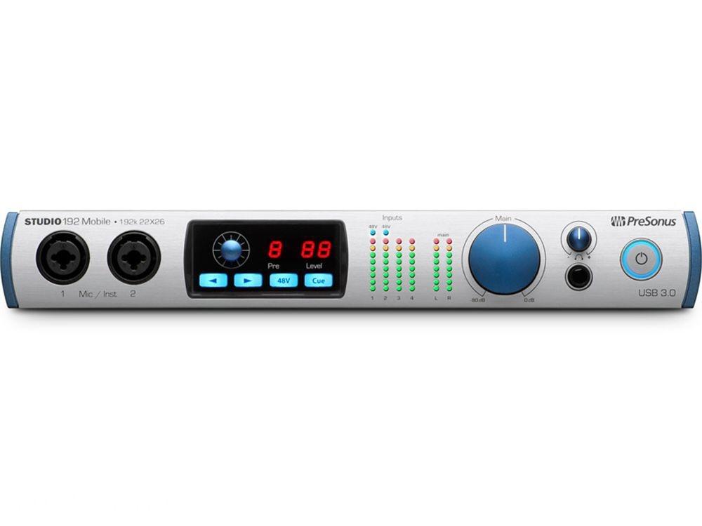 PreSonus Studio 192 Mobile - Audio Interface/Studio Command Center