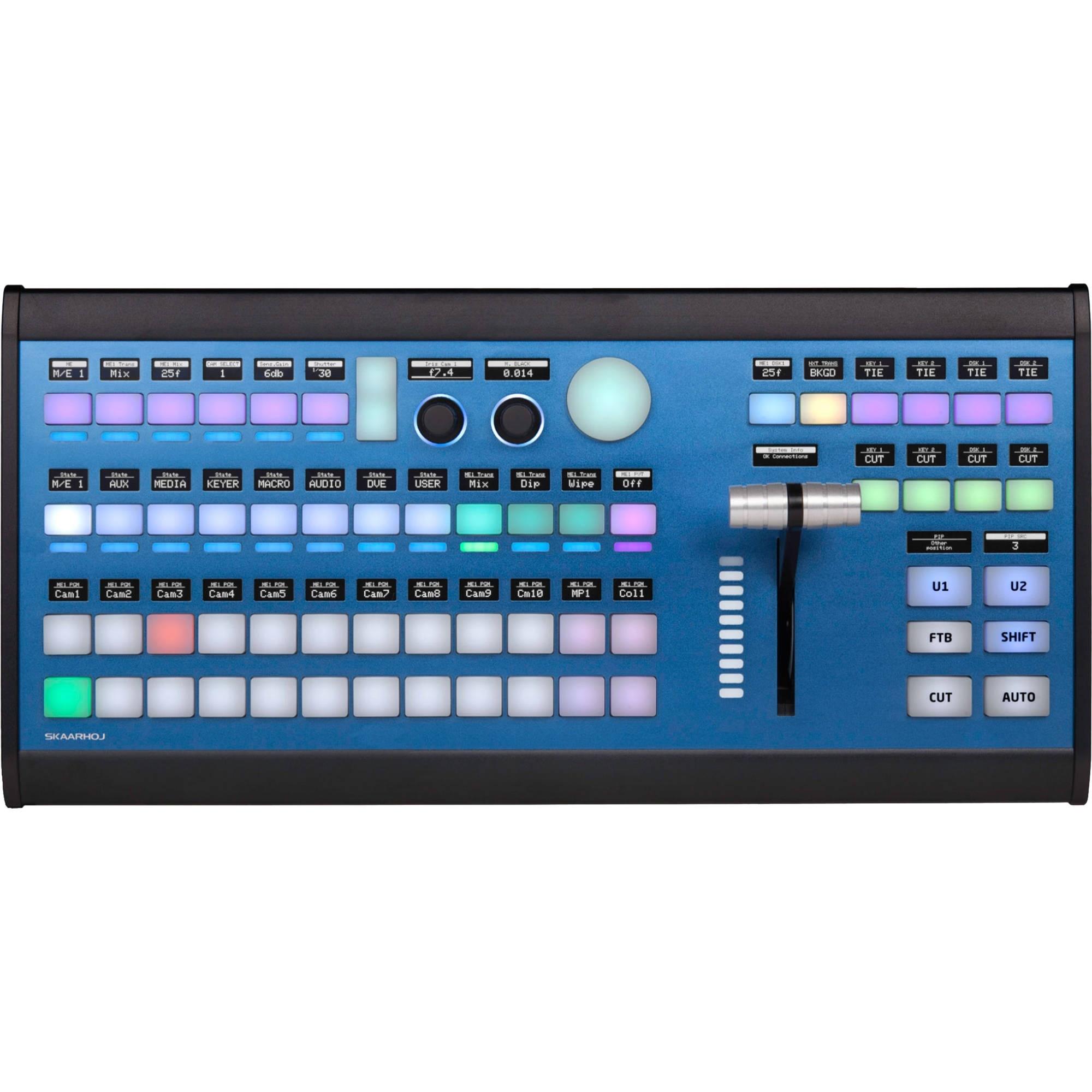 SKAARHOJ Air Fly Pro Desktop Controller with NKK Buttons