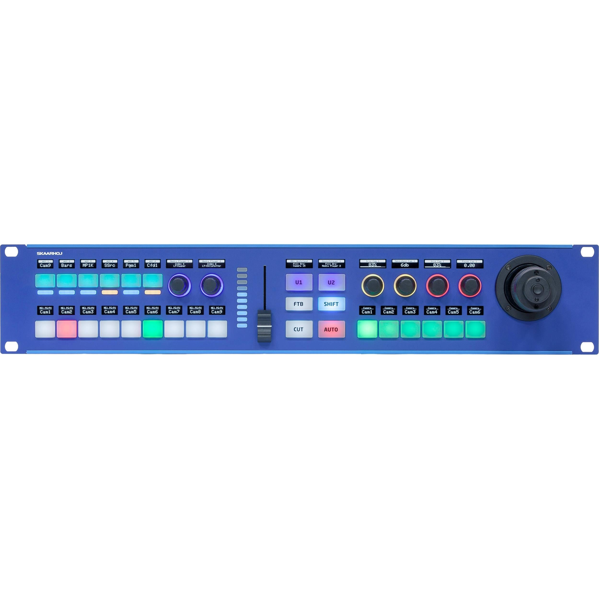 SKAARHOJ Rack Fusion Live PTZ Controller (2 RU)