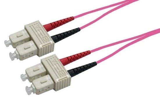 DYNAMIX 30M 50u SC/SC OM4 Fibre Lead (Duplex, Multimode)