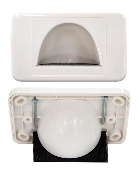 DYNAMIX AV Reverse Bull Nose Brush Plate