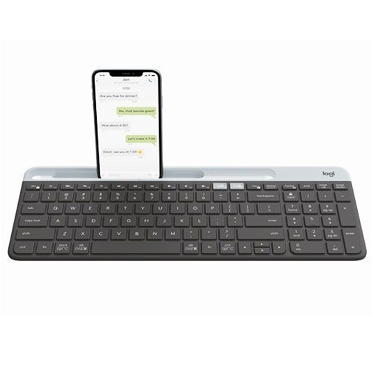 Logitech K580 Multi-Device Wireless Keyboard (Grey)