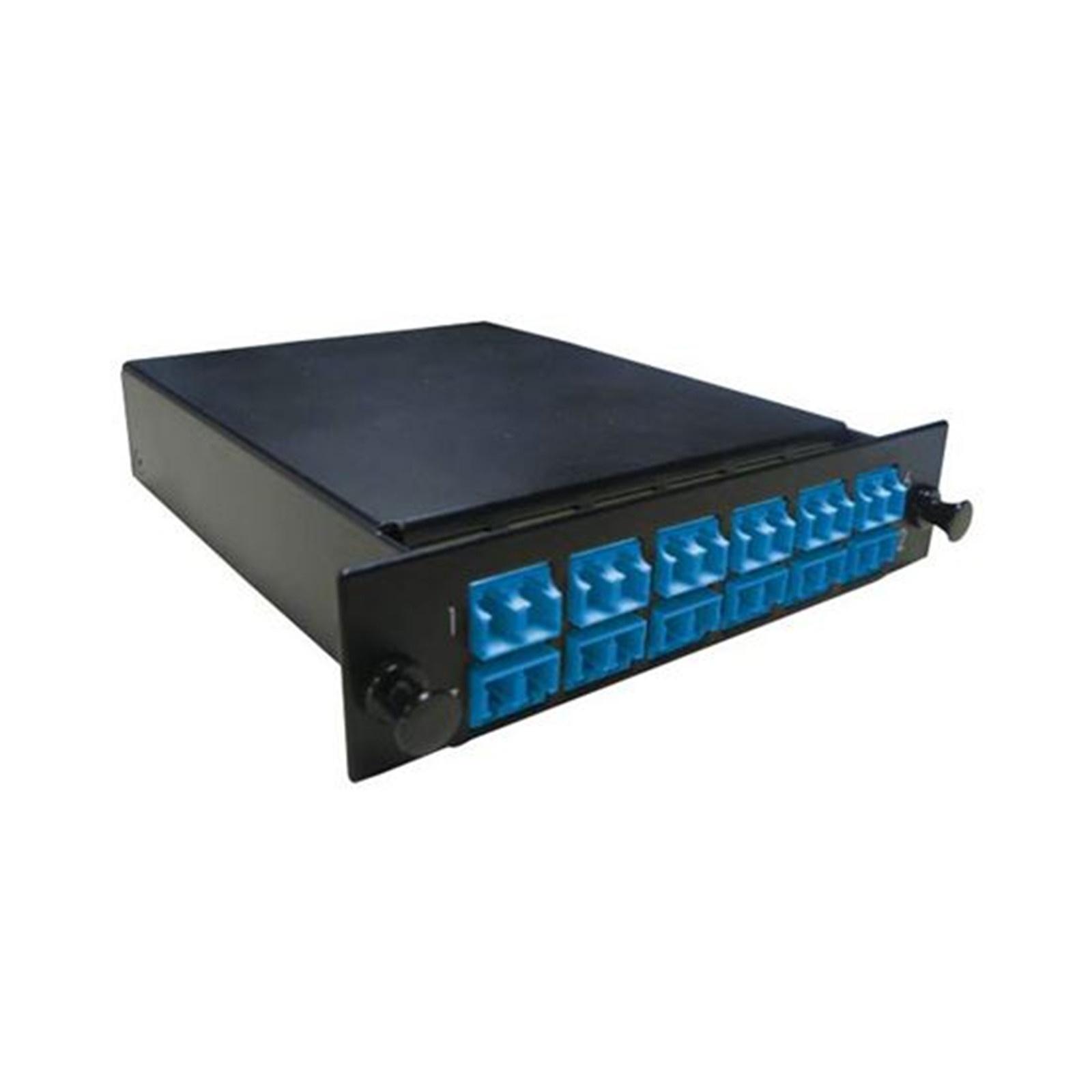 DYNAMIX MPO SM 12 Port LC Duplex Single-Mode 24 Fibre Cassette