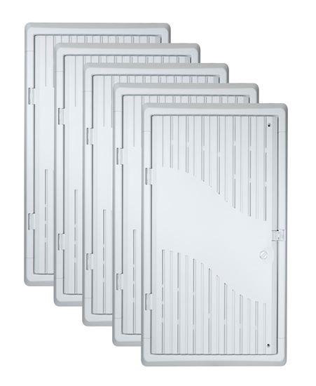 DYNAMIX 28' Recessed 5pc Bundle Plastic Network Enclosure