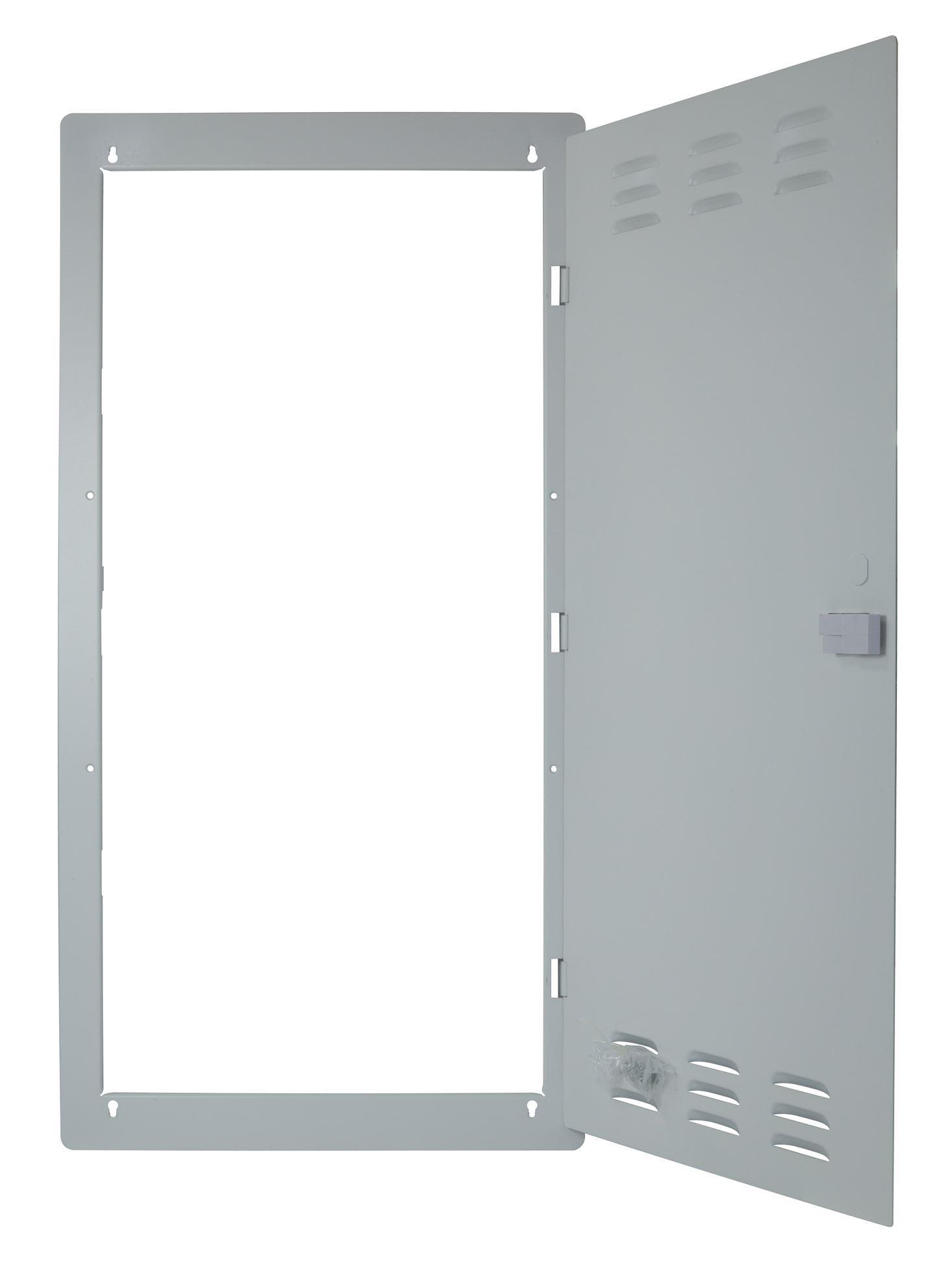DYNAMIX Flush Mount Front Door for 2804V2 Recessed Enclosure Left to Right