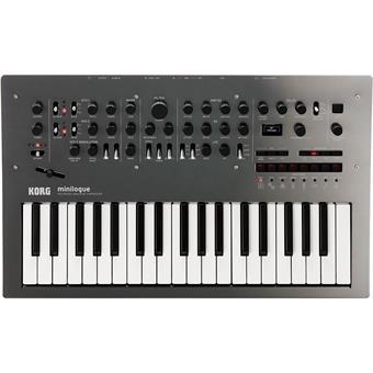 Korg Minilogue Polyphonic Analog Synthesiser (Polished Gray)