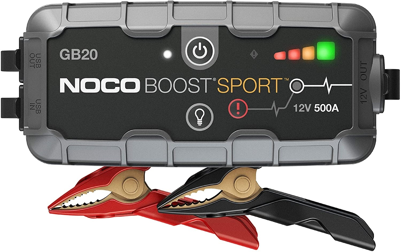 NOCO Boost Sport GB20 500 Amp UltraSafe Lithium Jump Starter