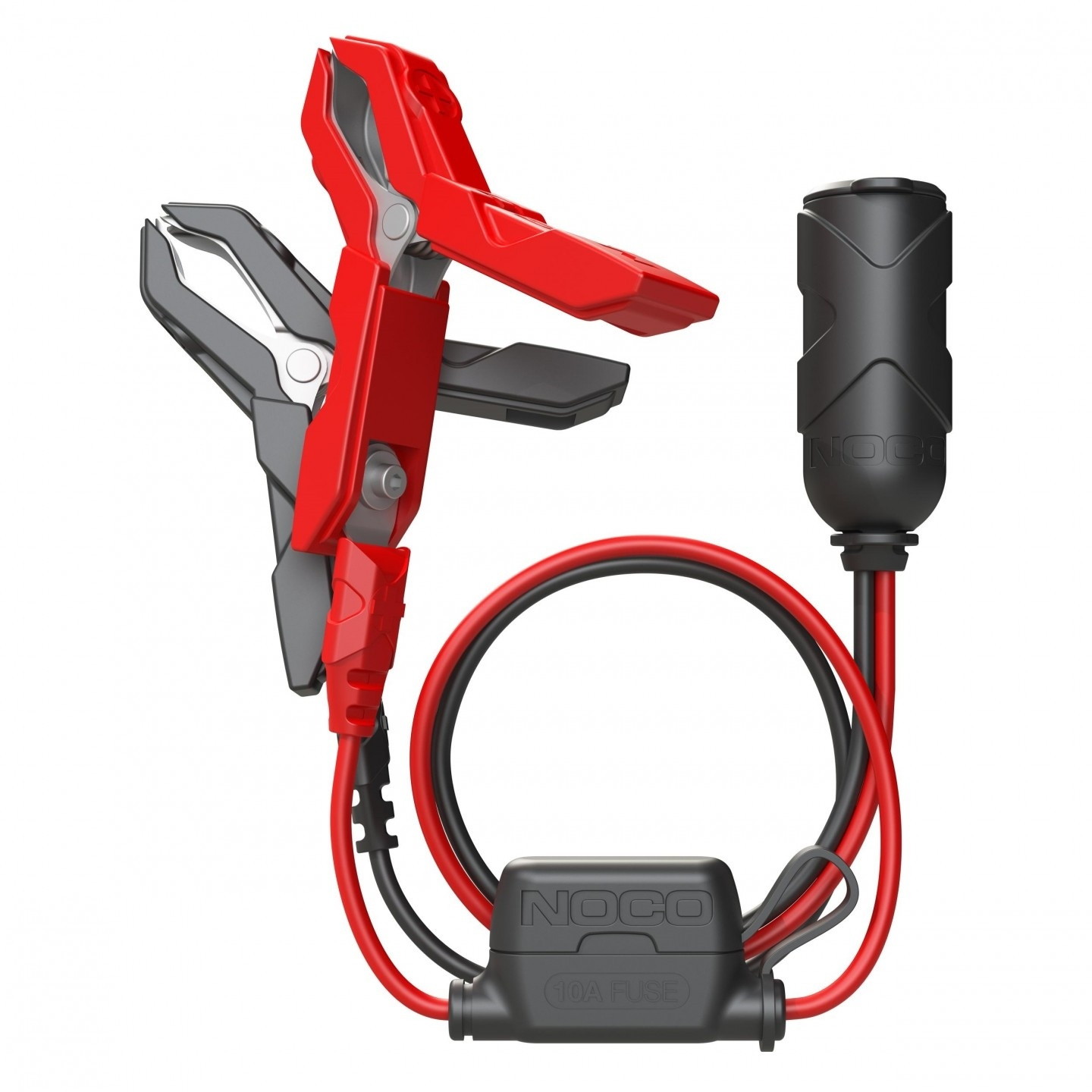 NOCO GC017 12 Volt Plug with Battery Clamps