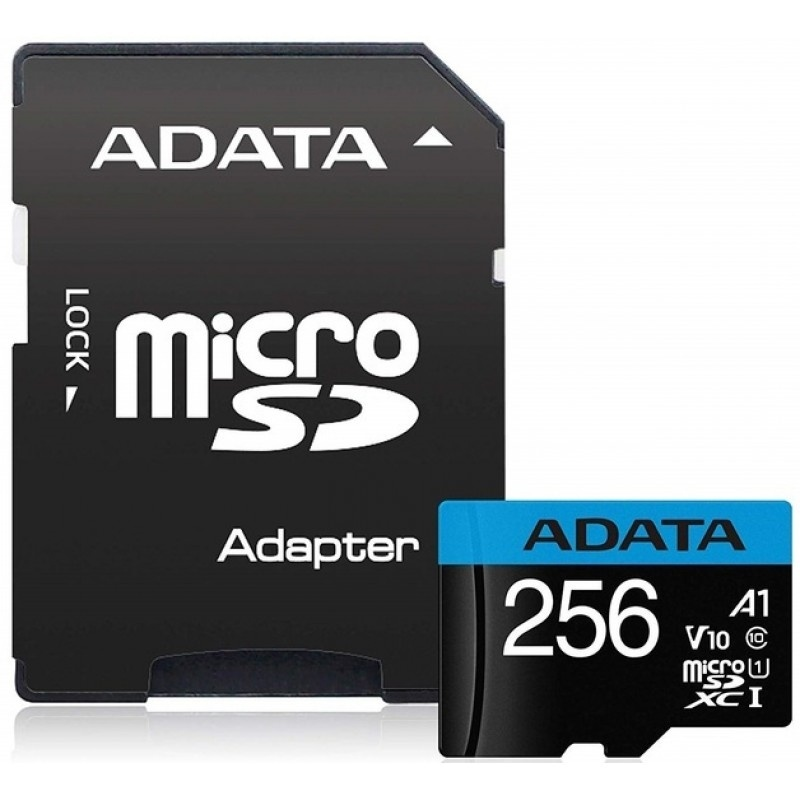 ADATA Premier microSDHC UHS-I A1 V10 Card with Adapter (256GB)