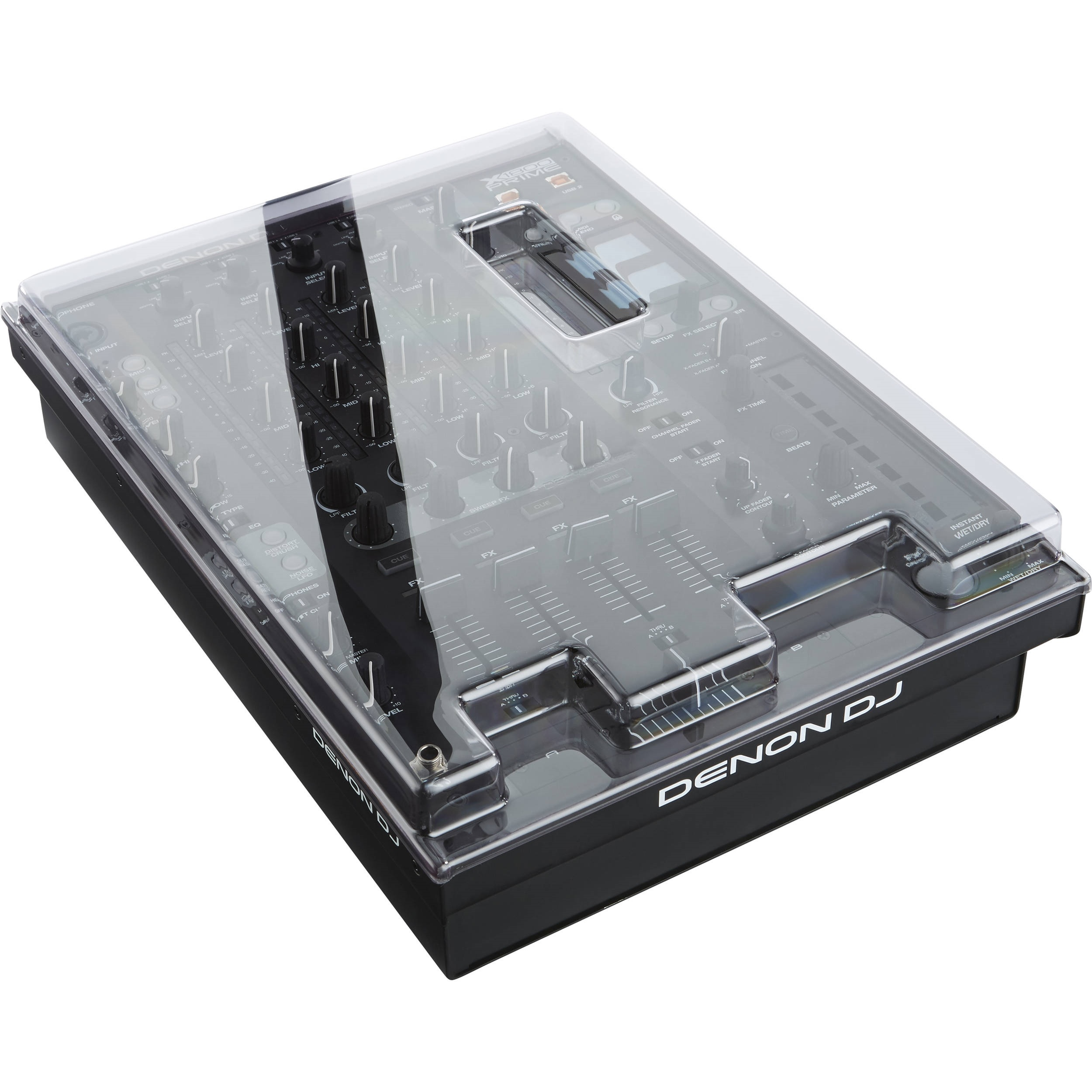 Decksaver Cover for Denon X1800 Prime Mixer (Smoked/Clear)