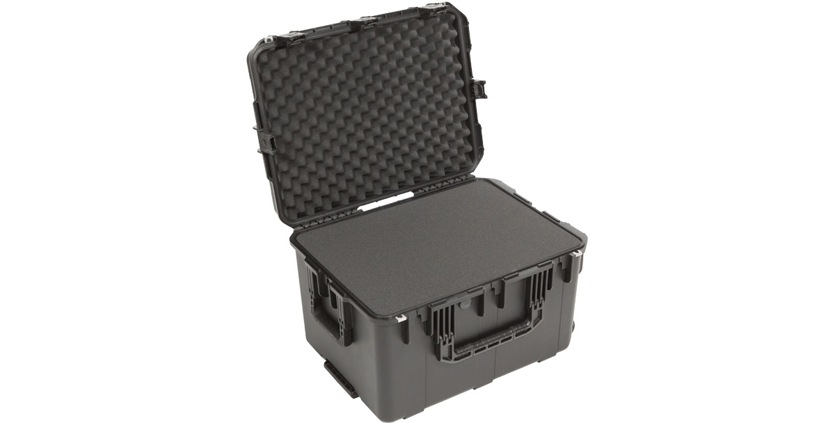 SKB 3i-2317-14BC iSeries 2317-14 Waterproof Utility Case with Cubed Foam & Wheels