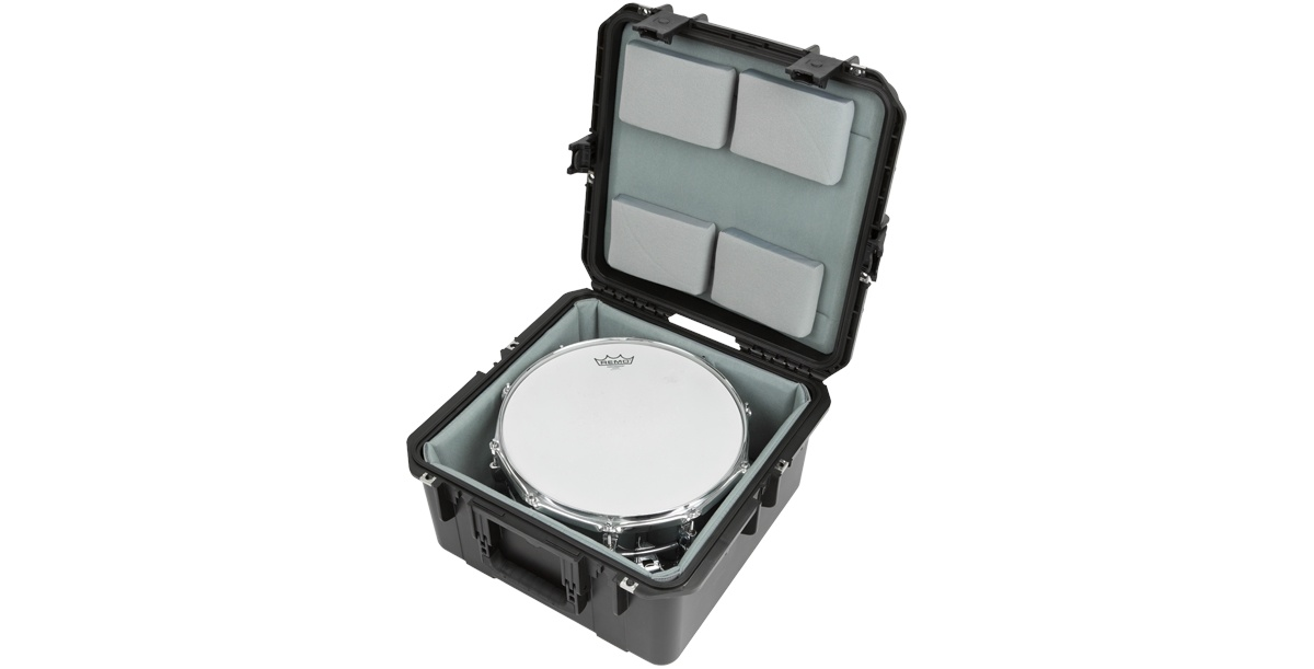 SKB 3i-1717-10LT iSeries Waterproof Snare Case (padded liner)